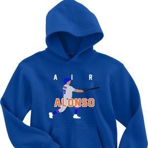 Pete Alonso AIR New York Mets YOUTH LARGE HOODIE